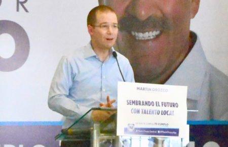 ¡Es responsabilidad de los tres niveles de gobierno garantizar la seguridad en los próximos comicios: Ricardo Anaya!