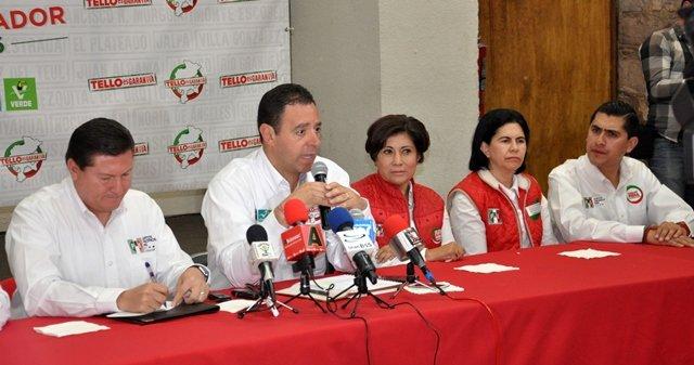 ¡Yo no vengo a discutir el pasado, vengo a discutir el futuro de Zacatecas: Alejandro Tello!