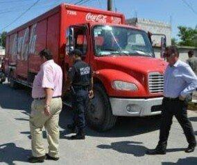 ¡A balazos asaltaron a repartidores de refrescos en Aguascalientes!