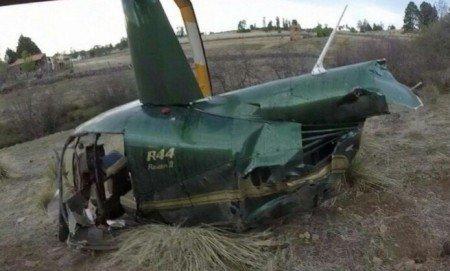 Cae helicóptero en Jalisco, deja cinco lesionados