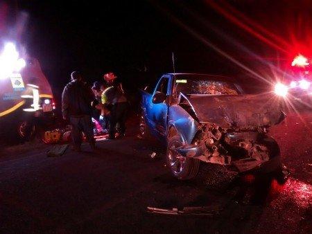 Provoca borracho aparatoso choque y seis personas resultaron heridas