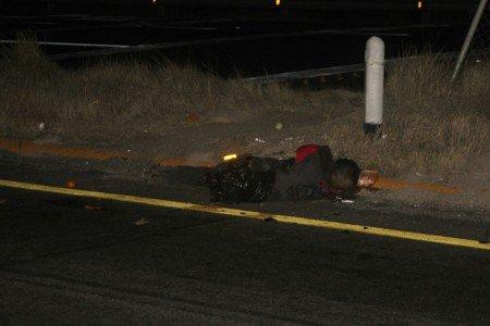 Muere arrollado en la carretera 45 a la altura de Pabellón de Arteaga