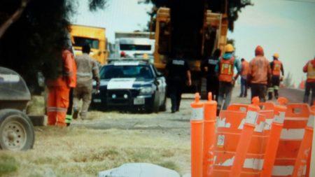 Muere trabajador al ser arrollado por camión de pasajeros
