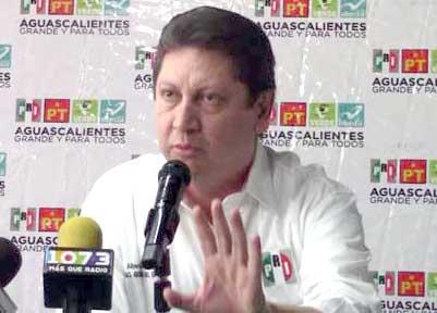 25 quejas ante el Instituto Estatal Electoral ha presentado el PRI en Aguascalientes en contra del PAN