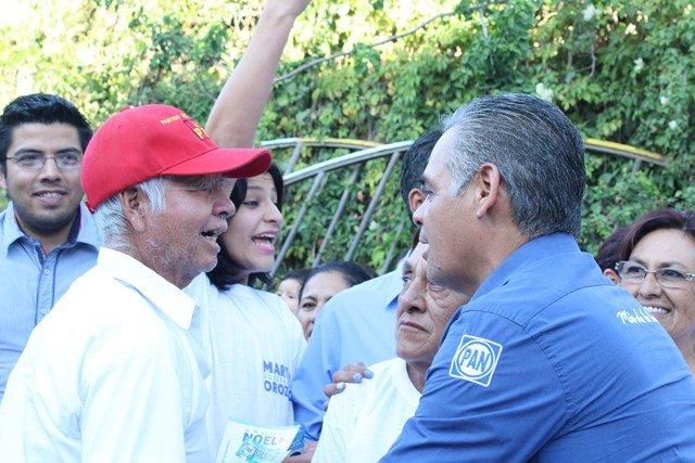 ¡Suma Noel Mata liderazgos del Partido del Trabajo a su proyecto!