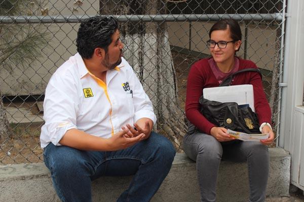 ¡Iván Sánchez Nájera brindará tarifa cero en transporte público para estudiantes!
