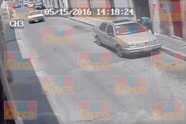 ¡Tras una persecución detuvieron a ladrón de vehículos en Lagos de Moreno!