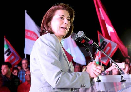 ¡Lorena Martínez convence en el debate!