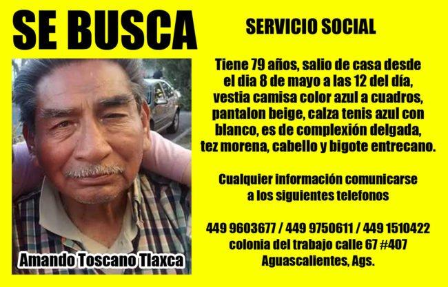 Servicio Social, lo vieron comprar boleto de autobús a Villa de Cos, Zacatecas