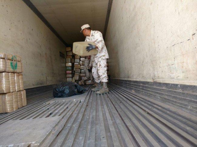 ¡El Ejército incauta 1.5 toneladas de marihuana en Aguascalientes!