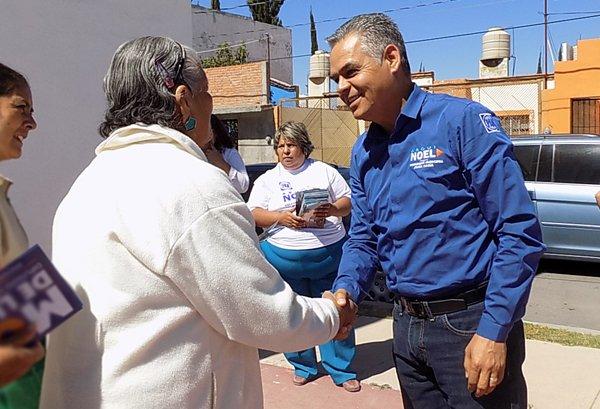 Sin confianzas, Noel Mata camina rumbo a la elección del 5 de junio