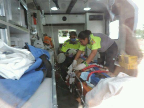 Muere ancianito que fue impactado por un auto en Rincón de Romos