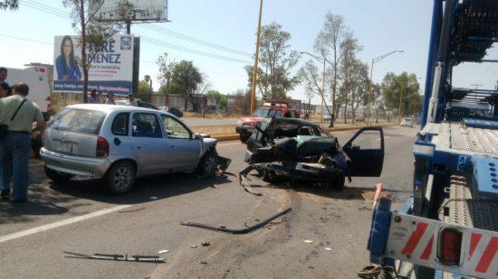 Dos lesionados dejó como saldo Aparatoso accidente frente a Nissan