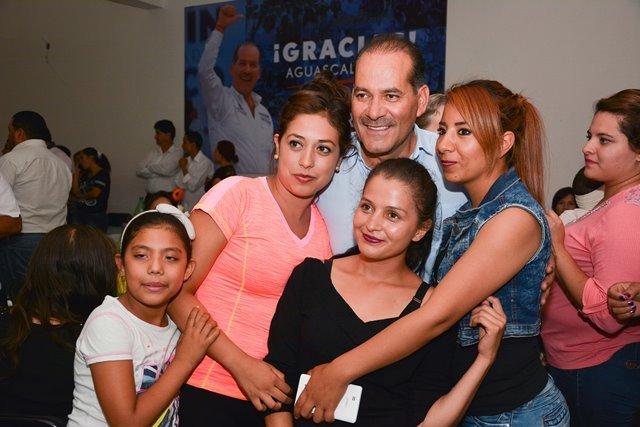 ¡Inicia el gobernador electo de Aguascalientes, Martín Orozco, gira de agradecimiento!