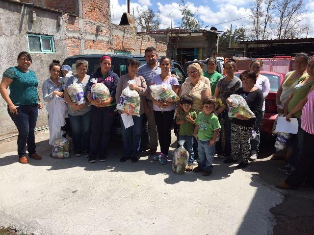 ¡Programa de asistencia alimentaria en Calvillo!
