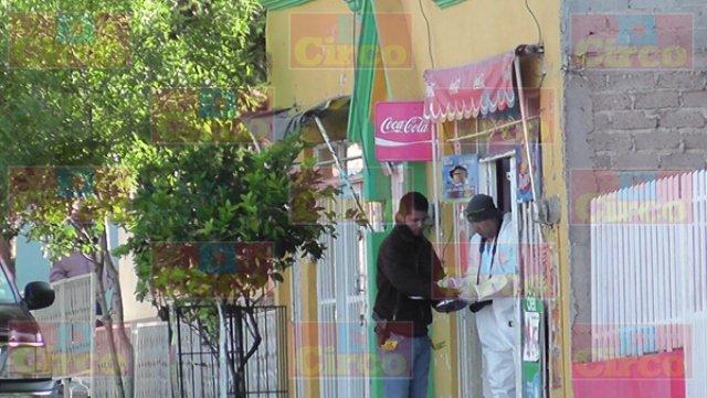 ¡Sujetos armados balearon una tienda de abarrotes en Fresnillo!