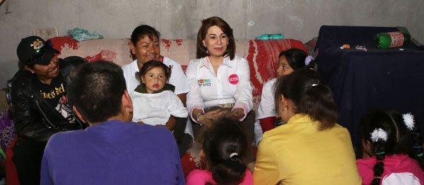 ¡Lorena Martínez concluye su campaña cerca de las personas de Aguascalientes!