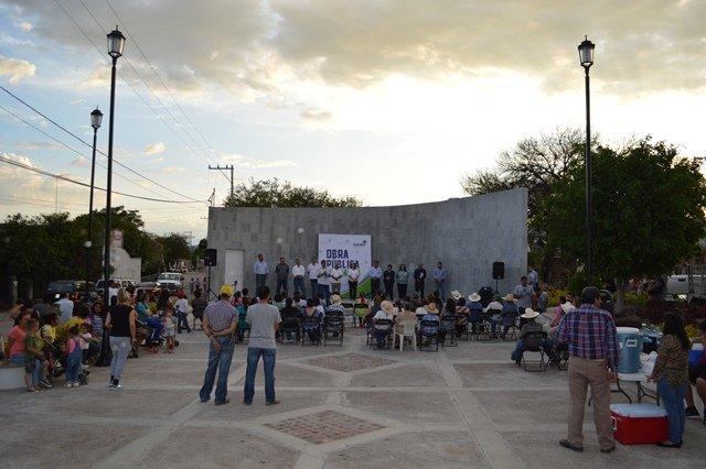 ¡Más espacios de convivencia social y cultura en Calvillo!
