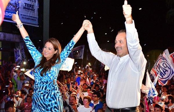 ¡Festeja PAN triunfo en Aguascalientes, gubernatura, 6 presidencias municipales y la mayoría en el congreso!