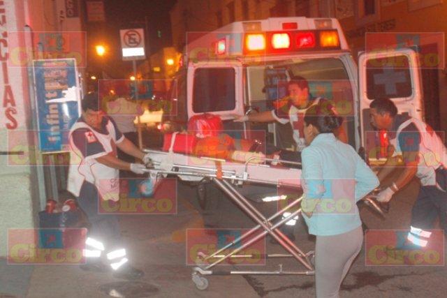 ¡Grave hombre que intentó suicidarse con un cuchillo en Lagos de Moreno!