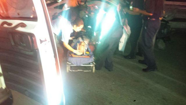 ¡1 hombre resultó lesionado tras fuerte accidente en Aguascalientes!