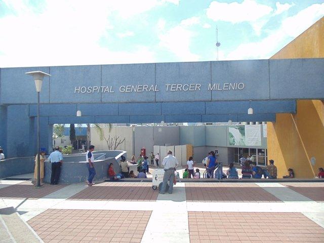 ¡Sujeto se dio un balazo accidentalmente en una pierna y fue hospitalizado en Aguascalientes!
