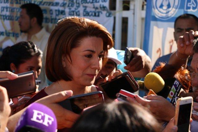 ¡Lorena Martínez está a favor de la transparencia!