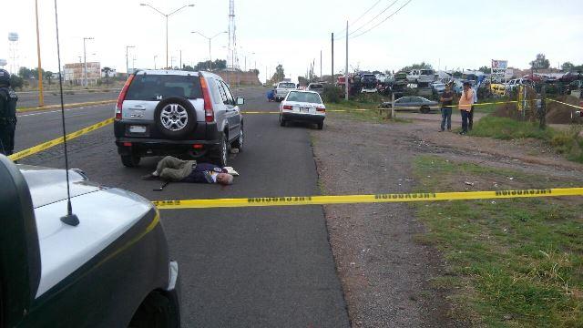 ¡Adulto mayor murió atropellado por una mujer en Aguascalientes!