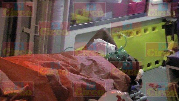 ¡Migrante sufrió amputación de un brazo tras ser atropellado por el tren en Fresnillo!