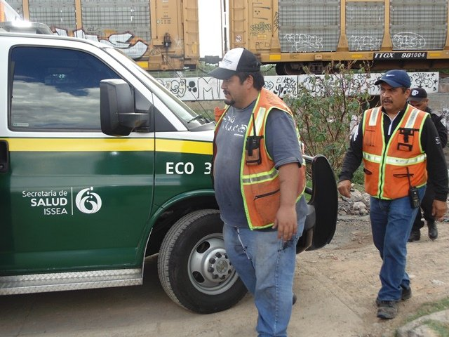 ¡Banda de delincuentes saboteó la marcha del tren en Aguascalientes para saquearlo!