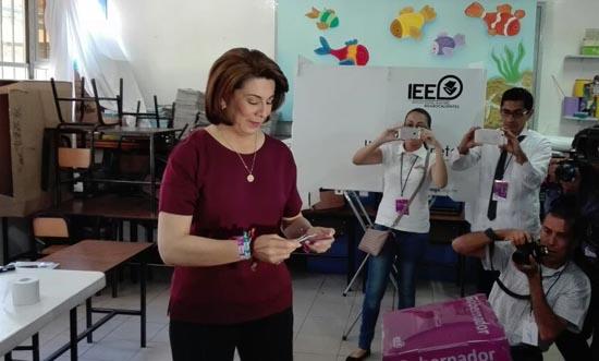 Respetará resultados electorales Lorena Martínez