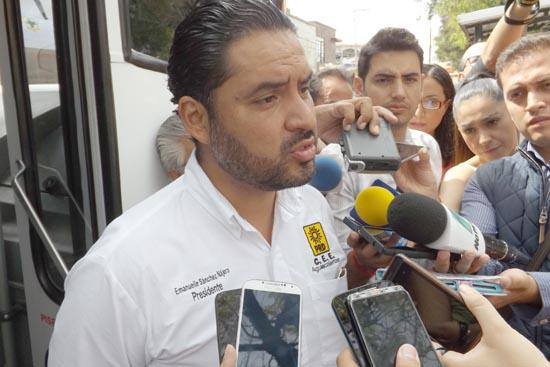 ¡Pide PRD castigar en las urnas al PRI y PAN este 5 de junio luego de agresiones físicas!