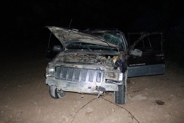 ¡2 heridos de consideración tras la volcadura de una camioneta en Aguascalientes!