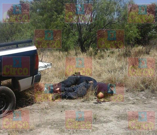 ¡En pleno proceso electoral ejecutan a dos policías municipales en Zacatecas!