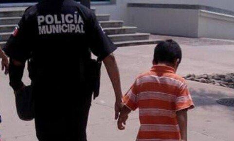 ¡Detienen a niño de 8 años por robar en una tienda en Aguascalientes!
