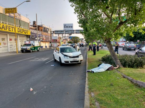 ¡Joven estudiante arrolla y mata a una mujer en Aguascalientes!