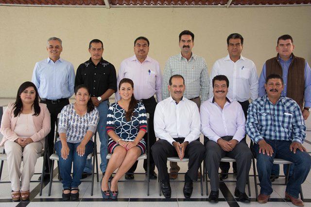 ¡Martín Orozco se reunió con los once alcaldes electos de Aguascalientes!