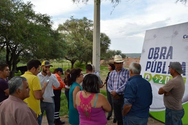 ¡Trabajarán por mejores servicios básicos en El Cuervero y Llano de los López en Calvillo!