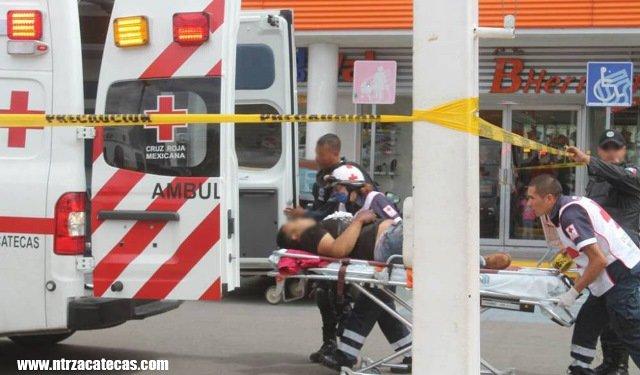 ¡Esposos se salvaron de ser ejecutados a balazos en Zacatecas!