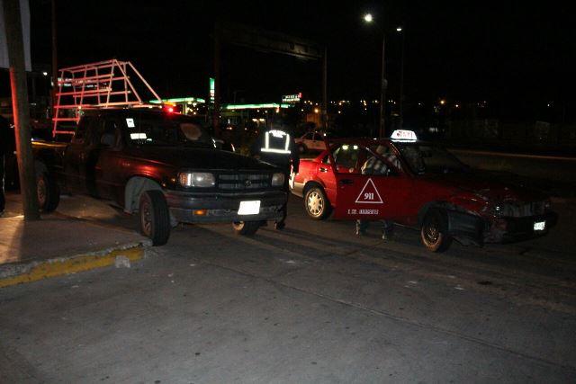 ¡Ebrio provocó un accidente en Aguascalientes con saldo de 2 lesionados!
