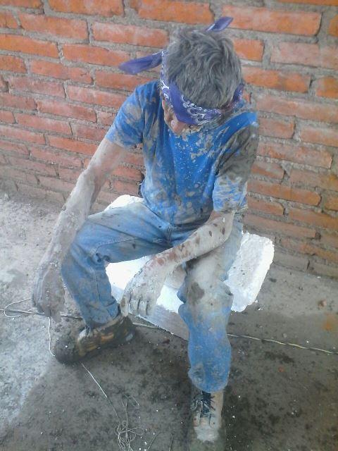 GALERIA/DERRUMBE EN UNA OBRA EN CONSTRUCCIÓN EN AGUASCALIENTES DEJÓ 2 ALBAÑILES LESIONADOS