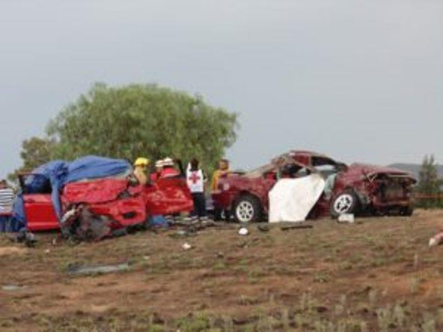 ¡Ya identificaron a los 7 muertos del choque en Aguascalientes: 5 eran de Zacatecas!