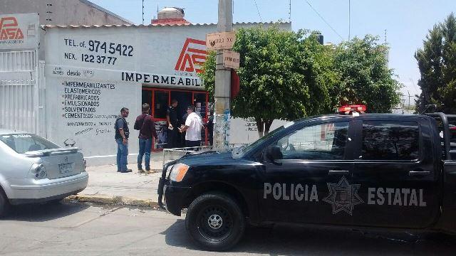 ¡Asaltaron a otro cuentahabiente en Aguascalientes tras salir de un banco!