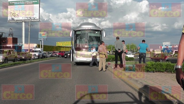 ¡Autobús de pasajeros atropelló y mató a un adulto mayor en Fresnillo!