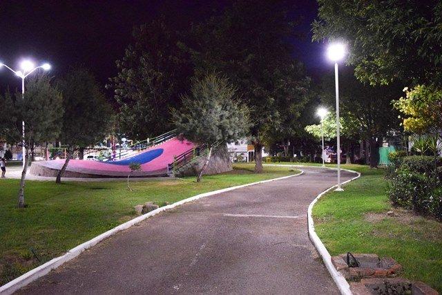 ¡Mejora Gobierno Municipal alumbrado en el parque La Concepción!