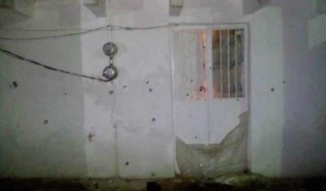 ¡Sujetos armados balearon una casa y una camioneta en Fresnillo!