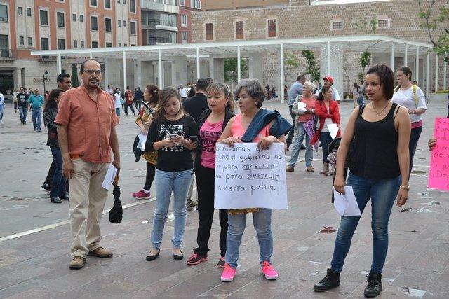 ¡Convocan maestros de Chiapas a extender movimiento magisterial contra la reforma educativa en todo el país desde Aguascalientes!