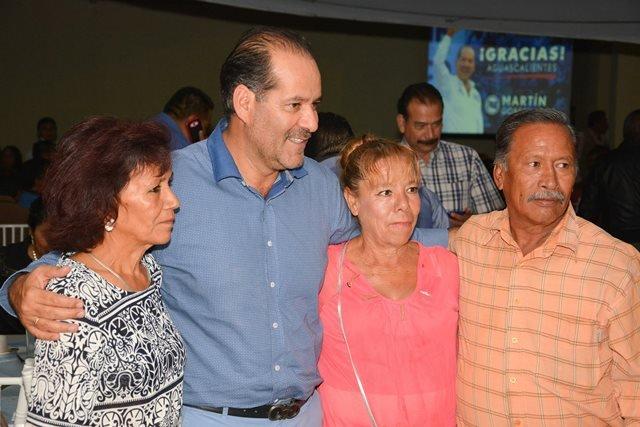 ¡Todos tendremos una tarea que desarrollar durante mi gobierno: Martín Orozco!