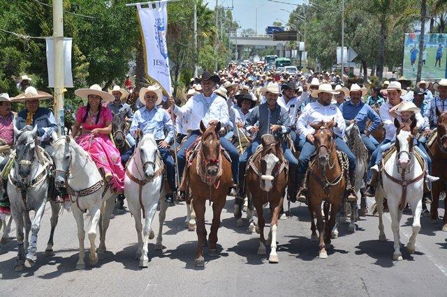 ¡Martín Orozco impulsará la charrería en Aguascalientes!