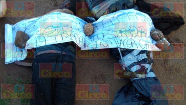 ¡Ejecutaron a 3 hombres tras torturarlos en Sombrerete, Zacatecas!